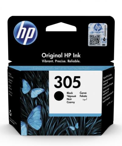 HP 305 čierny atrament