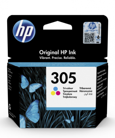 HP 305 trojfarebný atrament