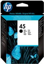 HP 45 čierna atramentová kazeta