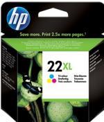 HP 22XL farebná atramentová kazeta