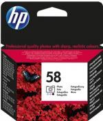 HP 58 foto farebná atramentová kazeta