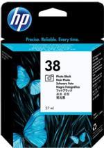HP 38 foto čierna atramentová kazeta