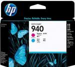 HP 940 purpurová a azúrová tlačová hlava