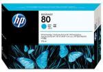 HP 80 azúrová atramentová kazeta veľká