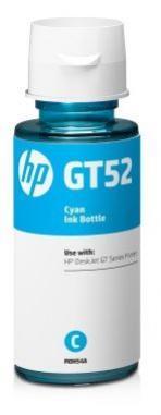 HP GT52 azúrová fľaša atramentu