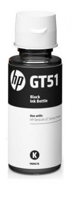 HP GT51 Čierna fľaša atramentu